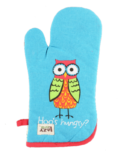Hoo's Hungry Owl Oven Mitt - Lazy One®